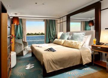 6-Ägypten-Nil-Kreuzfahrt-Kabine-Luxus-Sanctuary-Sunboat-IV©Sanctuary-Retreats
