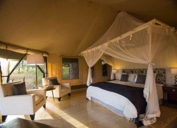 Africa; Tanzania; Sanctuary Swala; Bedroom